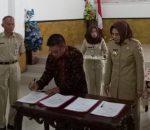 Walikota Teken Nota Perjanjian Hibah Pilkada 2018