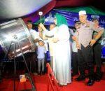 Dilepas Walikota Tatong Bara, Pawai Takbir Perayaan Idul Adha 1140 H