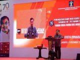 Disaksikan Wakil Presiden, Walikota Kotamobagu Terima Penghargaan Kota Peduli HAM 2018