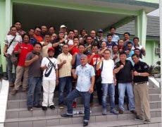 Wartawan Biro Bolmong Dukung Penuh TMMD Ke-98