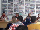 Pemkab Gorut dan DPRD Gorut Study Banding di Kantor Dispora Kotamobagu