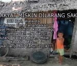 Walikota Tatong Bara Terlantarkan Rakyat Miskin Kotamobagu
