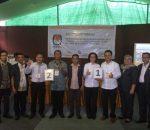 KPU Bolmong Tetapkan Nomor Urut Pasangan Calon