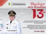 """23 Mei 2007-23 Mei 2020, Dirgahayu Kota Kotamobagu Ke-13, Mototompiaan, Mototabian Bo Mototanoban"""