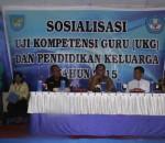 Bupati Bolmong Gelar Sosilasi UKG dan Pendidikan Keluarga