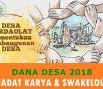 Inspektorat Boltim Temukan Kerugian Negara Rp200 Juta Pengelolaan Dana Desa T.A 2018