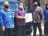 Wawali Kotamobagu Hadiri Penyerahan Mobil Operasional BUMDes Bilalang Satu