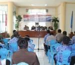 RKPD Tahun 2017, BupatiSalihi Pimpin Rapat Forum Konsultasi Publik