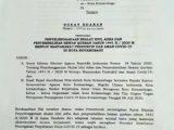 Walikota Kotamobagu Terbitkan Surat Edaran Pelaksanaan Sholat Idul Adha