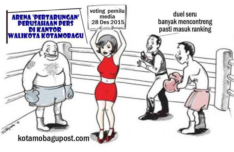 Ilustrasi Program Kabag Humas Kota Kotamobagu, Suhertien Tegela, Pemilu Media Tahun 2015