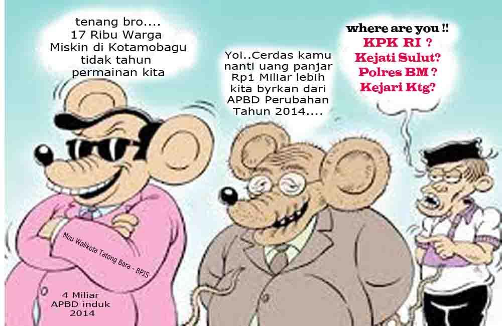 Ilustrasi - Dugaan korupsi Kotamobagu BPJS 4 Miliar versi LIDIK KRIMSUS RI.