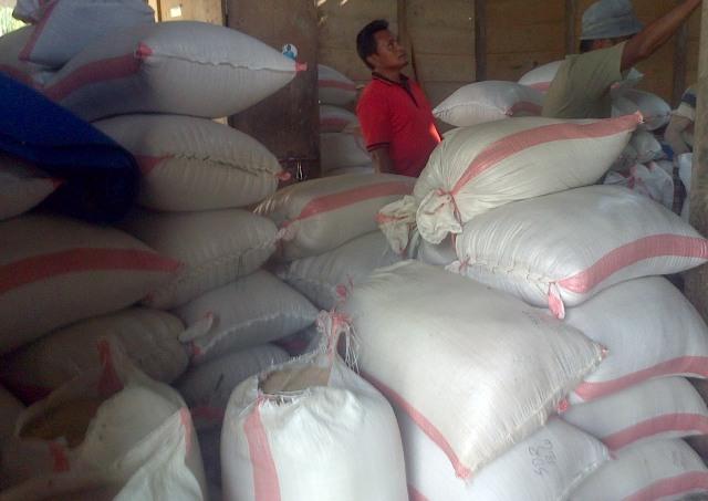 harga beras di Bolmong Raya naik jadi rp13 ribu perkilogram (dok istimewa)