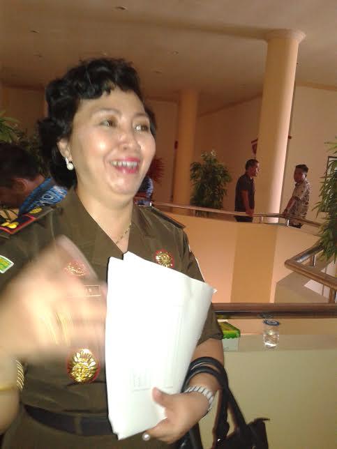 Kepala Kejari Kotamobagu Dasplin SH MH saat diwawancarai Kotamobagu Post terkait kasus dugaan korupsi Rp4 Miliar di Dinas Kesehatan Kotamobagu. (dok kotamobagu post)