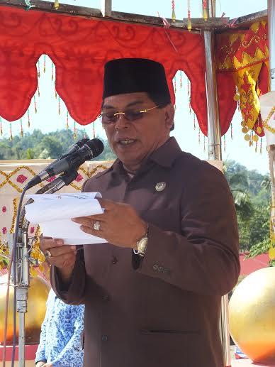 Salihi Mokodongan akan mengakhiri masa pengabdiannya sebagai Bupati Bolmong pada tanggal 16 July 2016