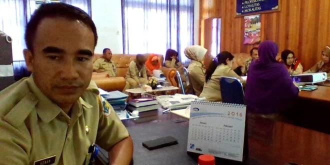 Kaban BKDD Kotamobagu Adnan Masinae selaku kordinator Baperjakat Pemkot Kotamobagu, akan dipanggil resmi oleh DPRD Kota Kotamonbagu