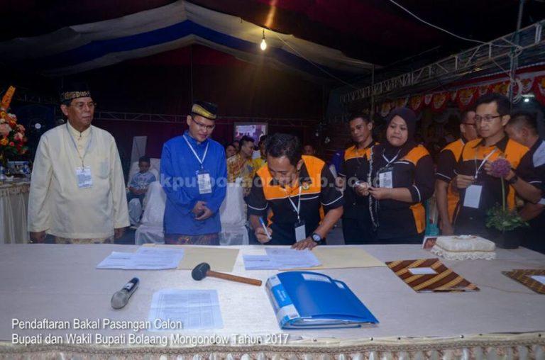 Di Hari Terakhir, KPU Bolmong Terima Berkas SBM – JITU