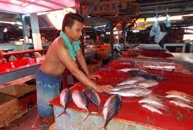 Pedagang Iklan di Pasar Serasi Kotamobagu (dok Radar BM)