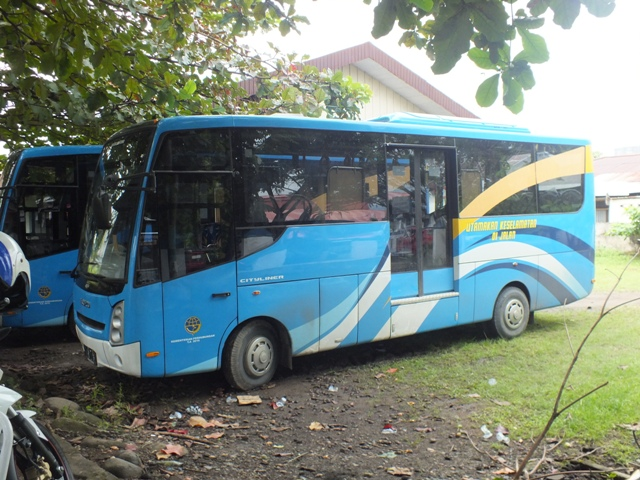 Operasi 5 Bus di Kotamobagu, Masih DigratiskanUntuk Jangka Waktu Tertentu