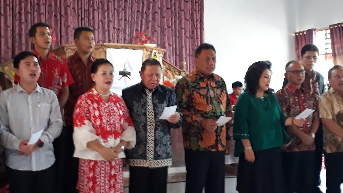 Gubernur Sulut, Resmikan Pastori Desa Ponompiaan