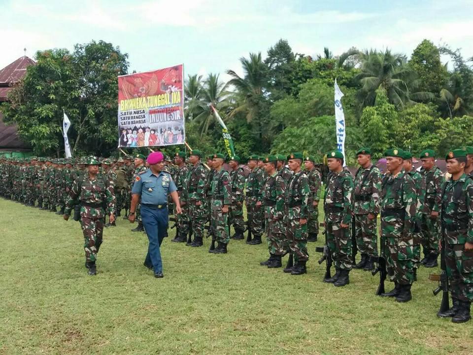 TMMD Ke-98 di Bolmong Resmi Ditutup oleh Wadan Lantamal VIII Manado