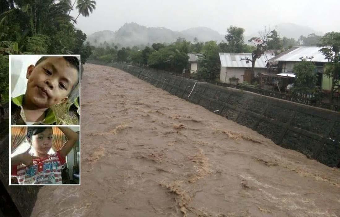 Duka Kotamobagu, BPPD-Basarnas Masih Belum Temukan Dua Anak Hanyut di Sungai