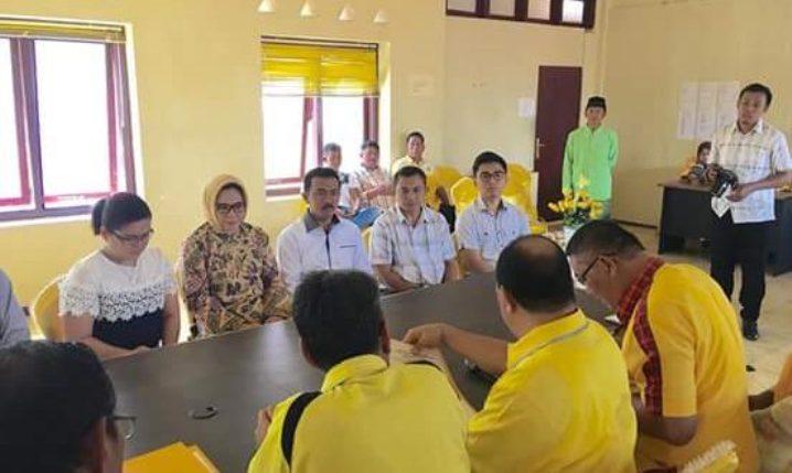 Tatong Bara Resmi Bakal Calon Walikota Partai Golkar Pilkada Kotamobagu