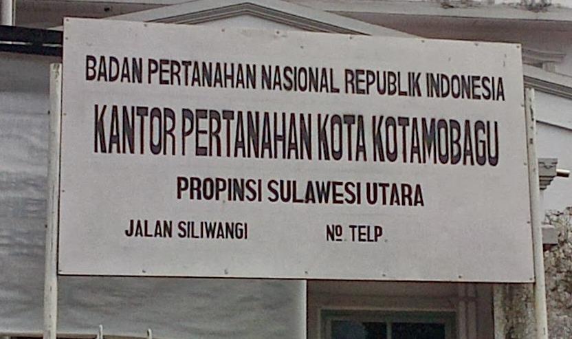 """BPN Kotamobagu : """"Sertifikat Tanah PTSL Gratis"""""""