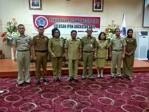 Dua ASN Jebolan IPDN ditempatkan di Kota Kotamobagu