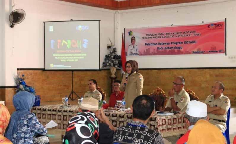 Tatong Bara Buka Resmi Pelatihan Relawan Kotaku Tanpa Kumuh