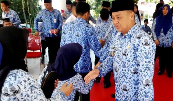 Pjs.Walikota Kotamobagu Tatap Muka Perdana Dengan ASN Kotamobagu