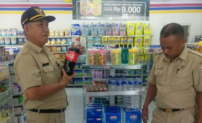 Banyak Minuman dan Makan Expired di IndoMaret, Hasil Sidak Tim Pemkot Kotamobagu