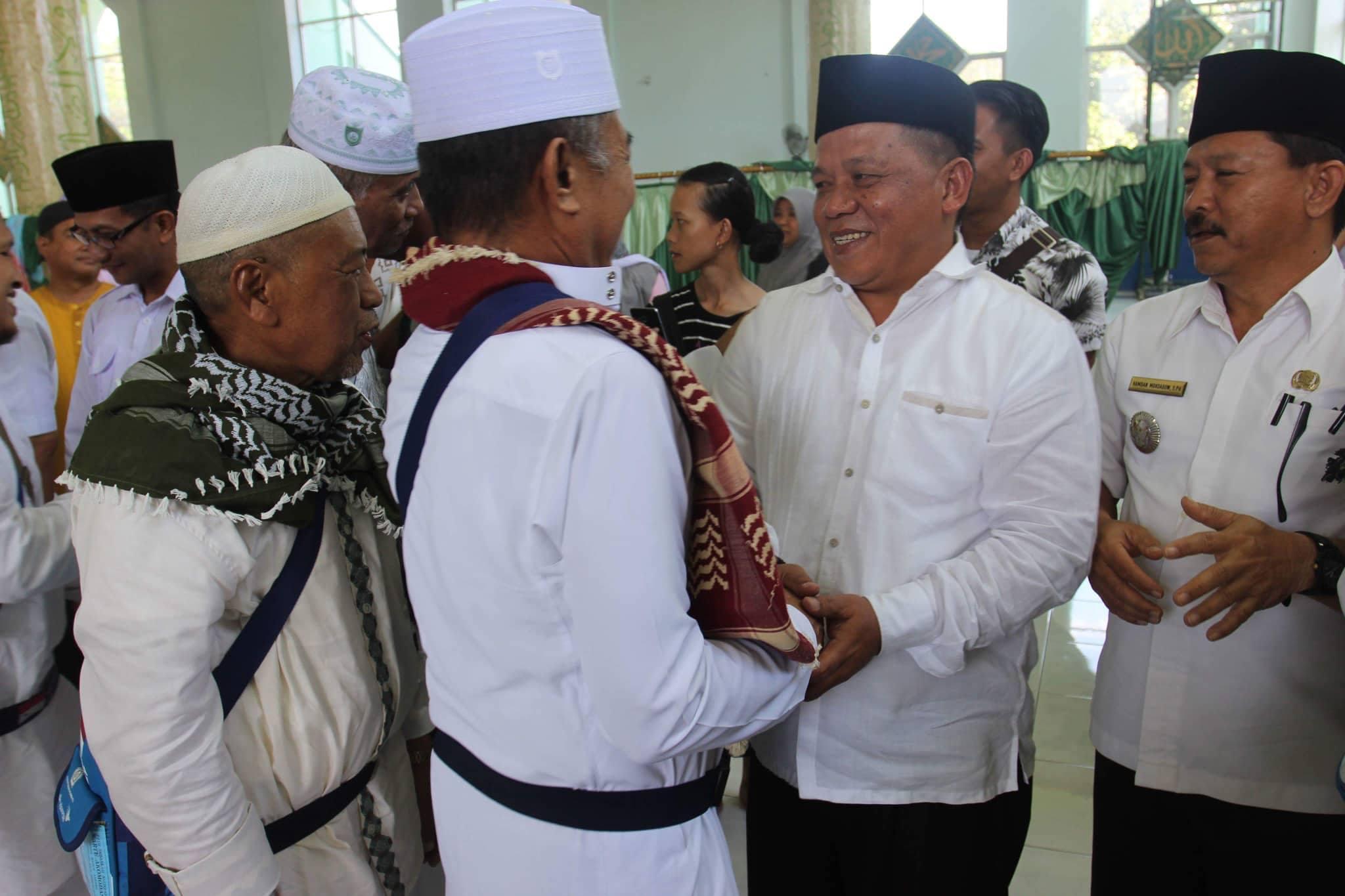 "Wawali Nayodo Kurniawan : ""Selamat Datang Jemaah Haji Kota Kotamobagu"""