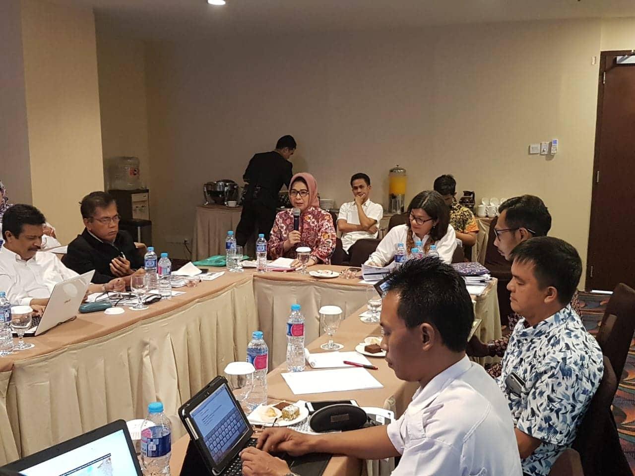 Walikota Tatong Bara Workshop Bersama Kementerian Pekerjaan Umum