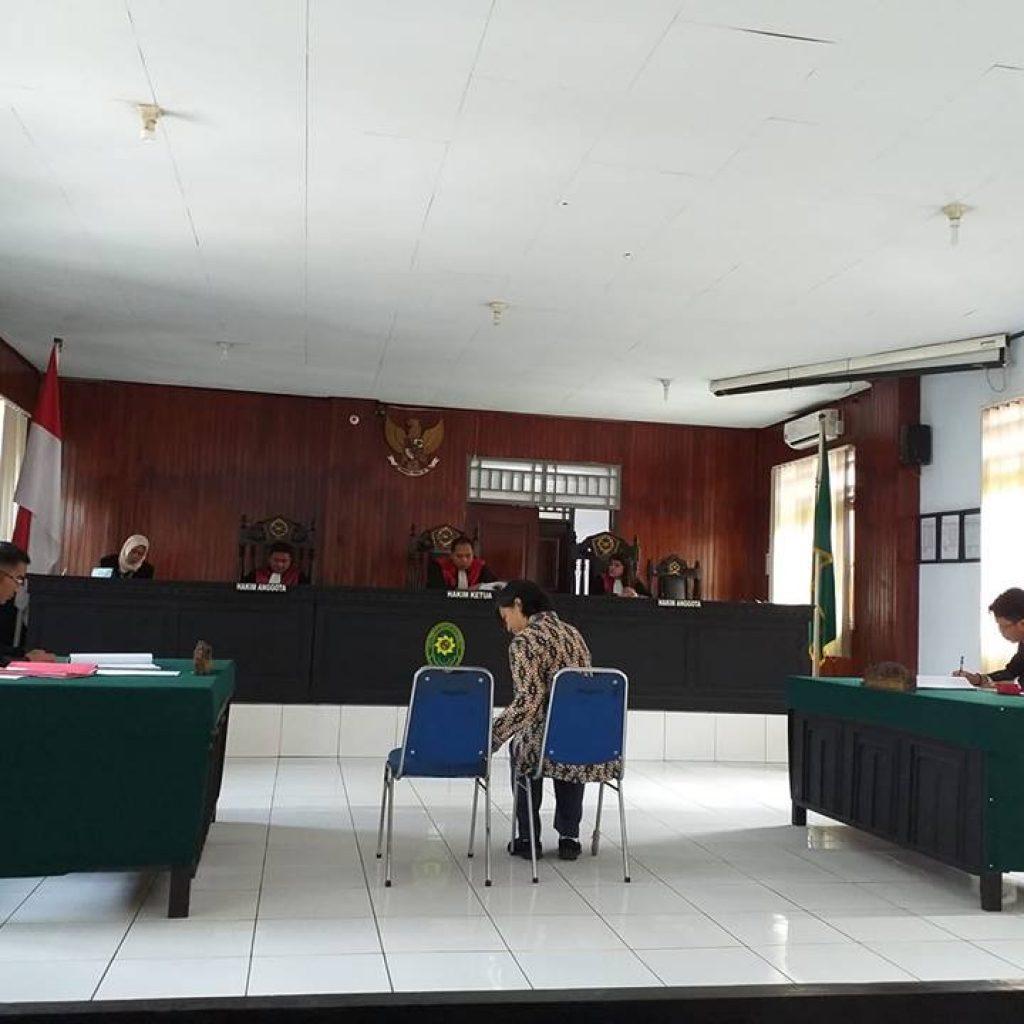 Dewan Pers Berikan Keterangan Ahli Dalam Sidang PN Kotamobagu, Terdakwa Pemred KlikBmr.com
