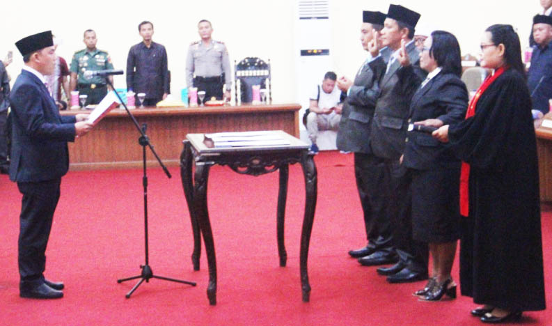 PAW 3 Anggota, DPRD Bolmong Gelar Rapat Paripurna Istimewa