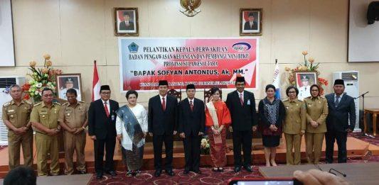 Tatong Bara, Hadiri Pelantikan Kepala BPKP Provinsi Sulut