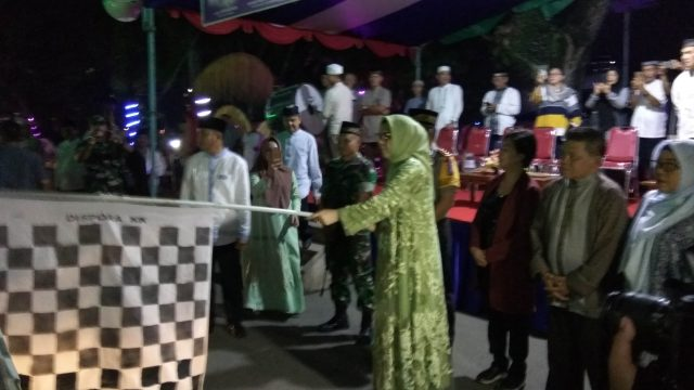 Disaksikan Forkopimda, Pawai Takbiran Resmi Dilepas Walikota Kotamobagu