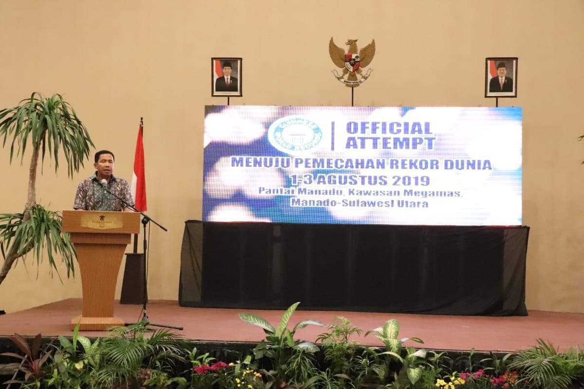 Jelang Event Guinness World Records Menyelam di Manado, Kapolda Sulut Imbau Masyarakat Jadi Tuan Rumah yang Baik