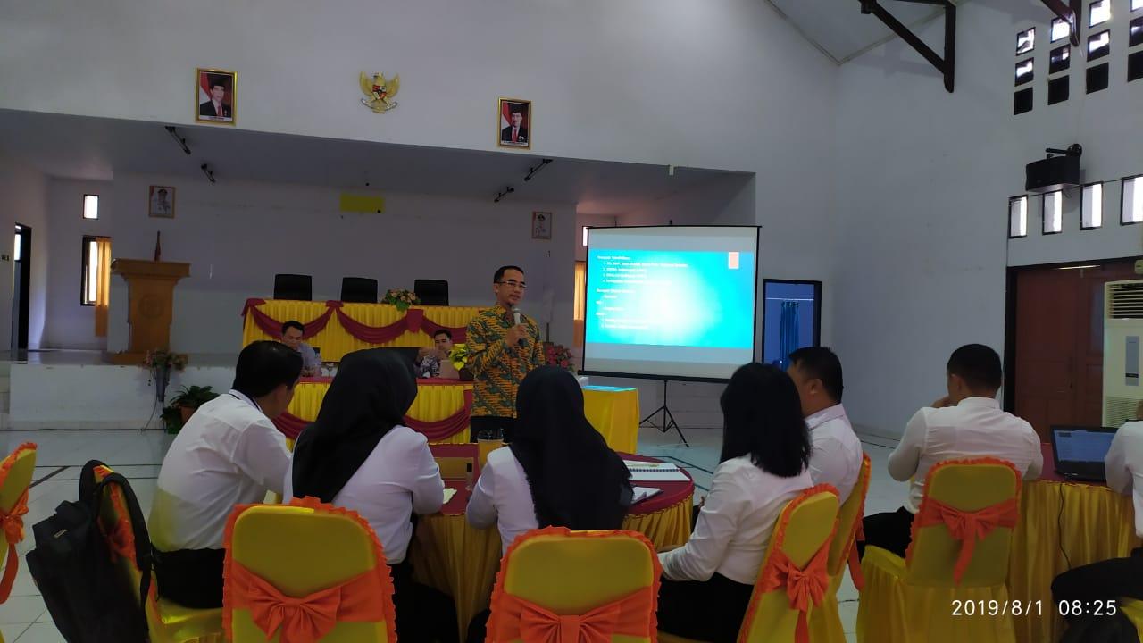 Asisten Walikota Kotamobagu, Bawakan Materi Pada Diklat Pim IV di Provinsi Gorontalo