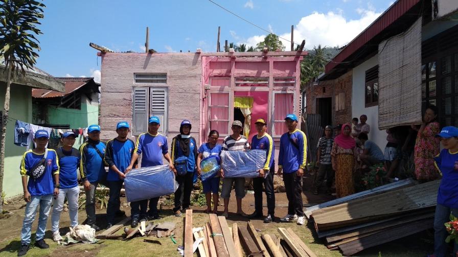 Daftar 31 Rumah di Kec.Kotamobagu Timur Korban Angin 'puting beliaung'