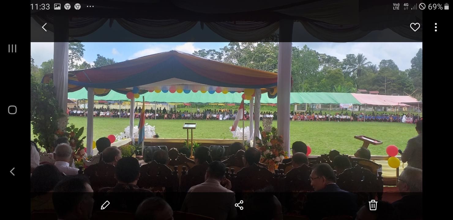 Wagub Sulut dan Bupati Minsel Hadiri Ibadah Agung HUT Pelprip GPdI Sulut Ke-66 di Motoling