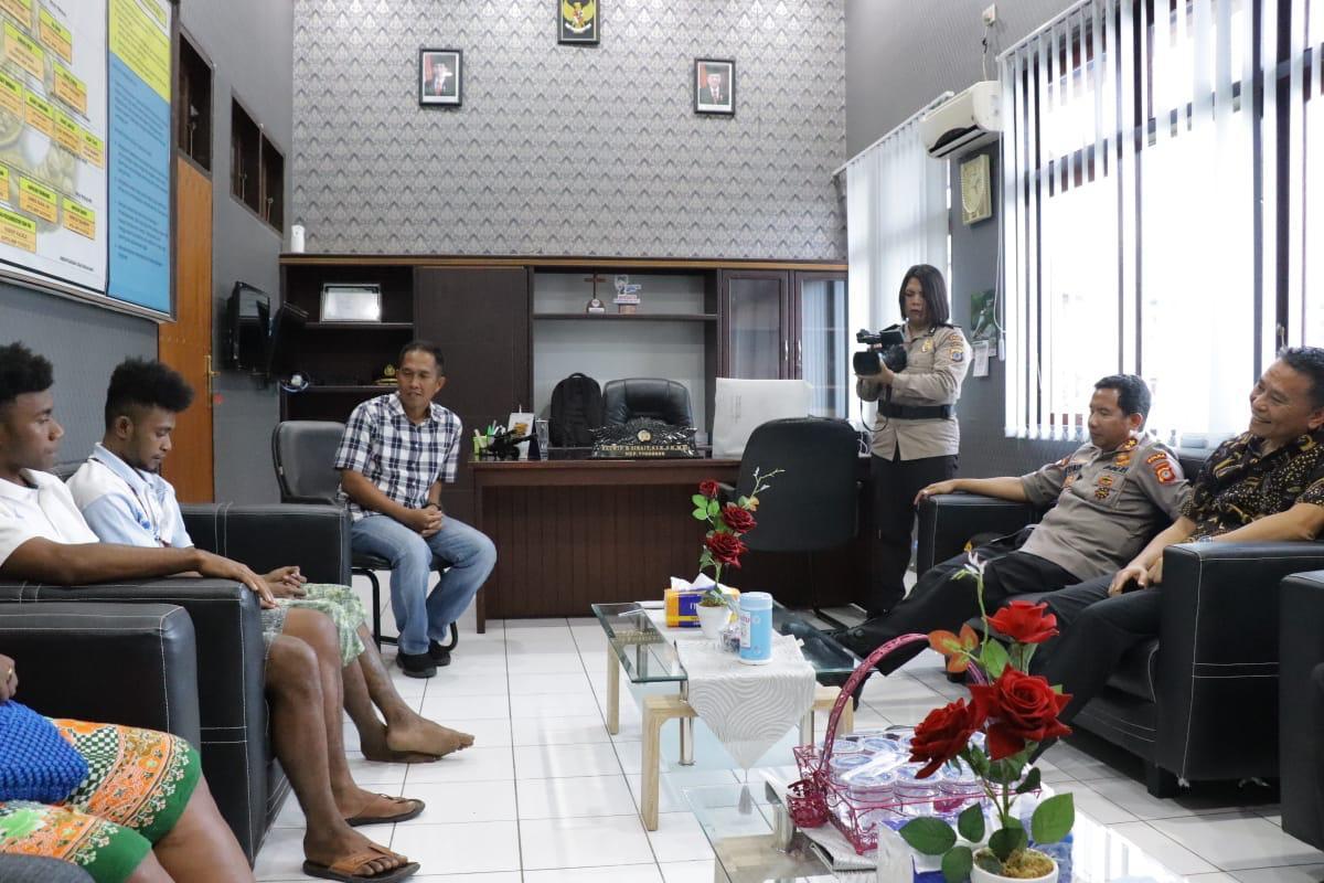 """Polda Sulut : """"Kebakaran Asrama Papua di Tomohon, Murni Karena Keteledoran Mahasiswa Asal Papua Main Korek Api"""""""