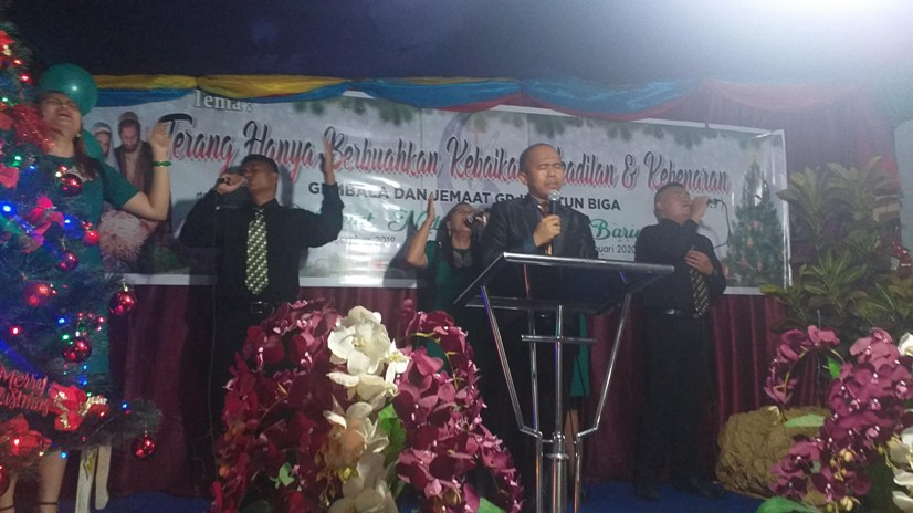 Tonni Budiman Bawakan Khotbah Natal Digelar GPdI Zaitun Biga, Wilayah 88 Kotamobagu
