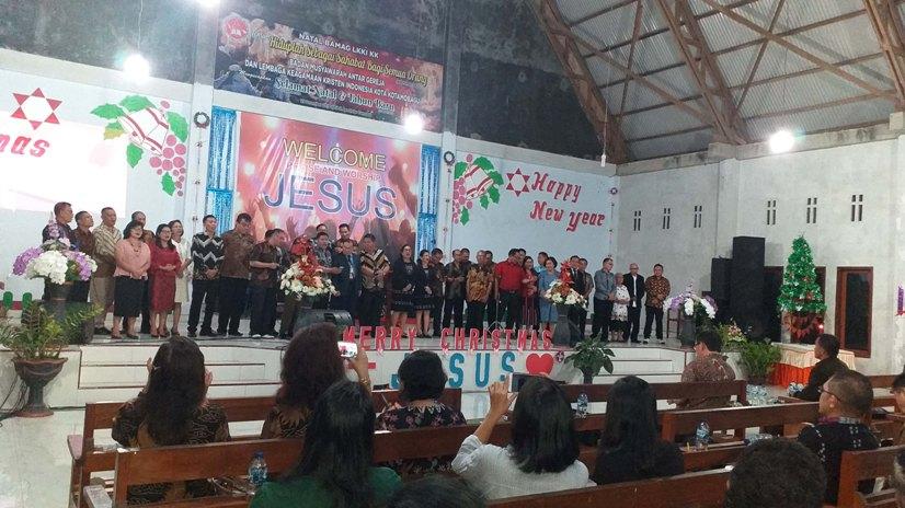 Natal Berjalan Aman, Walikota Kotamobagu Ungkapkan Terimakasih Kepada 16 Denominasi Gereja