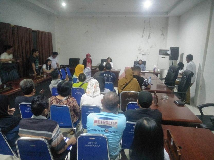 Dirut PD Pasar dan Kadis Perikanan Tak Gubris 'Panggilan' DPRD Kota Manado