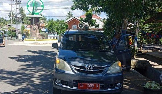 Gunakan Mupen, Dinas Kominfo Kotamobagu Himbau Masyarakat