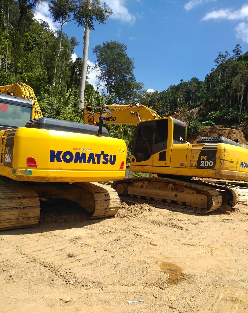 'Kebal' Hukum! Aktifitas Terkini Tambang Emas Ilegal Potolo Kabupaten Bolmong