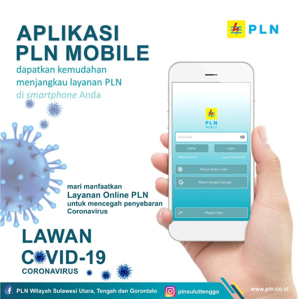 Cegah Penyebaran Covid 19, Manfaatkan Layanan Online PLN