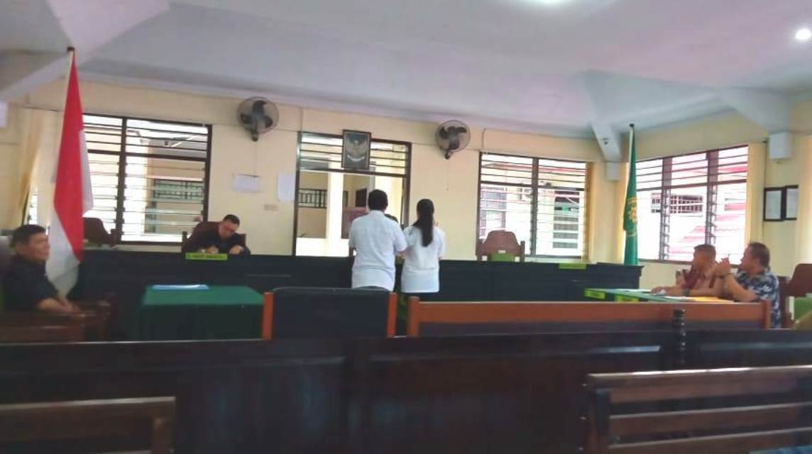Sanny Widjoyo dan Gloria Lamora, Jadi Saksi Pra Peradilan Termohon Kapolda Sulut