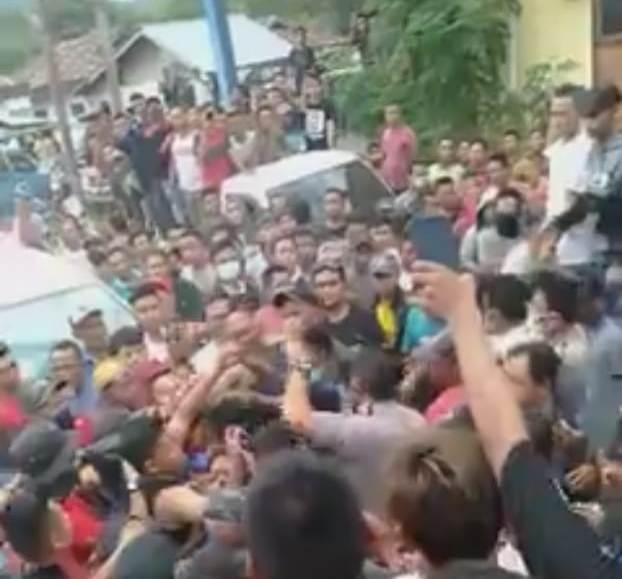Terjadi Aniaya Pengeroyokan Wartawan Dimomen kunker Kapolda Sulut di Tanoyan Selatan